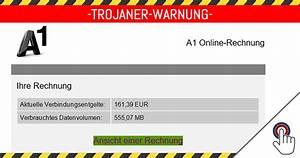 A1 Rechnung : virus warnung gef lschte a1 online rechnung mimikama ~ Themetempest.com Abrechnung