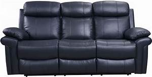 Shae joplin blue leather power reclining sofa from luxe for Sectional sofas joplin mo