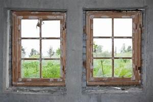 Stare drevene okna