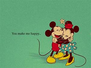 love cute disney happy you mickey mouse minnie mouse ...