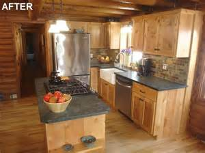 17 best ideas about log cabin kitchens on rustic cabin kitchens cabin kitchens and