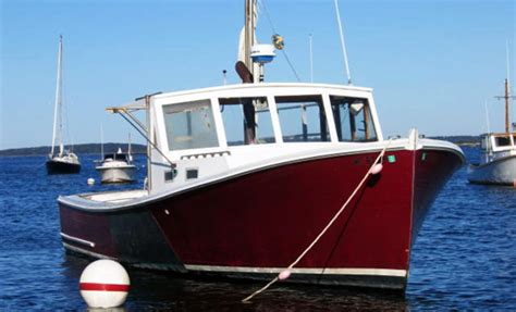 Lobster Boat Engines by Commercial Lobster Fishing Boats