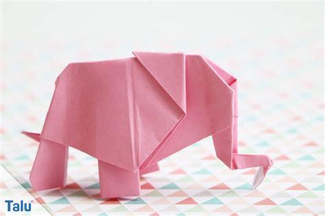 tiere aus papier falten origami elefant falten anleitung vorlage f 252 r papier geldschein talu de