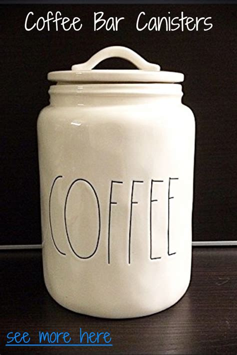 farmhouse kitchen canisters coffee bar ideas for kitchen lures and lace