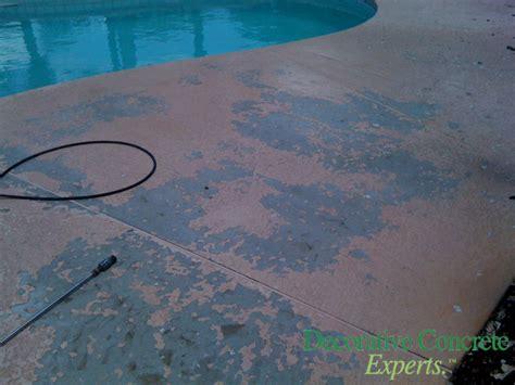 acrylic pool deck coating images