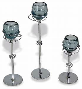 gyro iron candle holders with glass set of 3 With kitchen cabinets lowes with glass candle holder set of 3