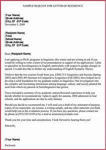 Formal, Reference, Letter