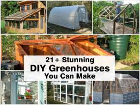 Stunning A Green Home Ideas by 21 Stunning Diy Greenhouses You Can Make