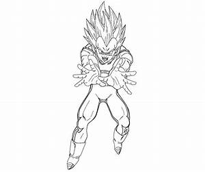 Vegeta 5 Coloring | Crafty Teenager