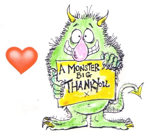 A Monster Big Thank You  101 Challenges In 1001 Days