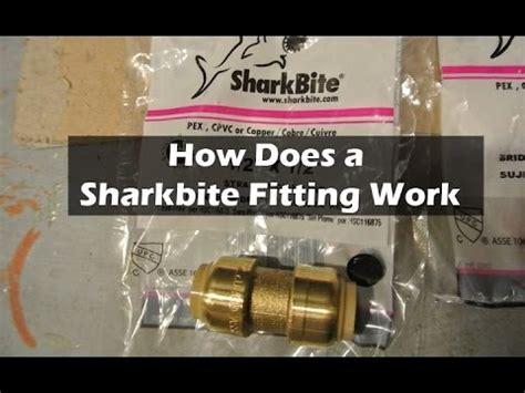 fix  water leak   sharkbite push  fitting