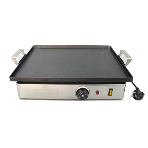 cuisiner à la plancha electrique plancha terrassa dp45 simogas une plancha peu encombrante