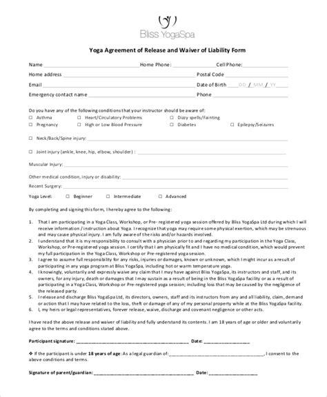 liability waiver form template newatvs info