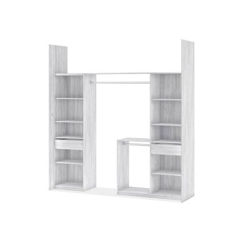table haute de cuisine but kit dressing effet frêne blanc york h 249 x l 178 239