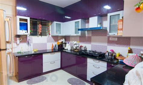 modular kitchen colors india تصميمات مطابخ حرف l ألوميتال و أكريلك بيتى مملكتى 7814
