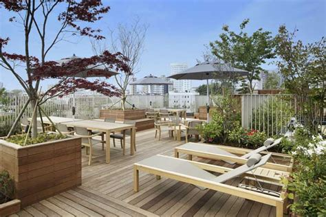 Roof Top Terrace : Spacious Rooftop Terrace