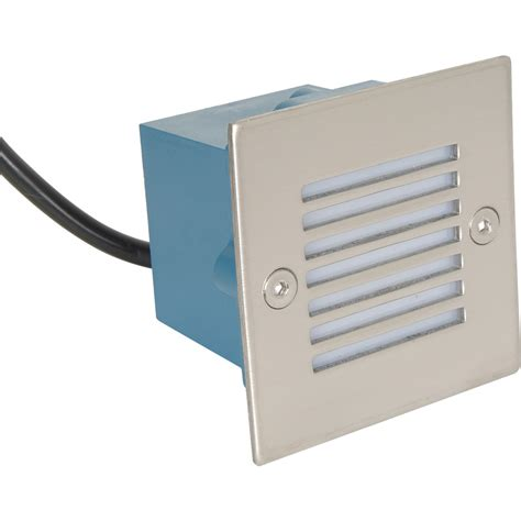 led 0 8w square wall light 230v ip54 cool white 6000k