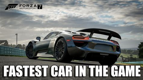 What Is The Best Car For A Beginner In Forza Motorsport 7
