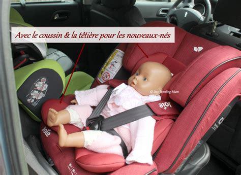 sieges bebe on a testé le siège auto stages isofix de joie