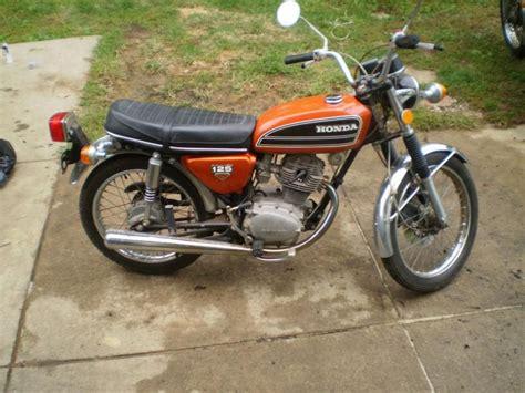 buy 1974 honda cb125s cb 125 si vintage motorcycle low 2040 motos