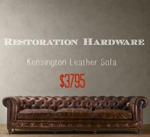 Restoration Hardware Lancaster Sofa Look Alike by Who Makes Restoration Hardware Leather Sofas Aecagra Org