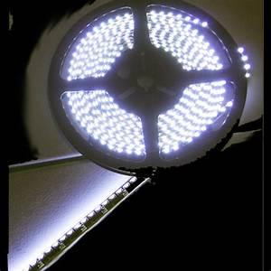 Eclairage Led En Ruban : ruban led noir clairage lat ral blanc naturel 120 ~ Premium-room.com Idées de Décoration