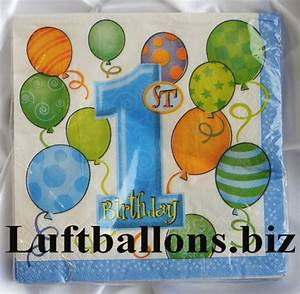 Servietten 1 Geburtstag : partydekoration zum 1 geburtstag servietten zahl 1 lu kinder geburtstag party deko 1 ~ Udekor.club Haus und Dekorationen