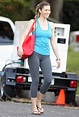 Jessica Biel shows off super fit body on set of new film ...