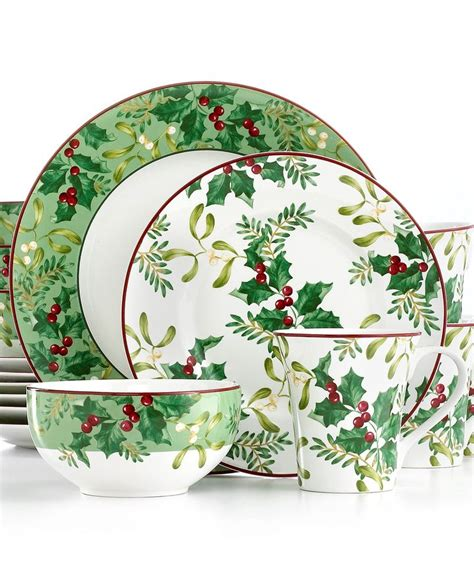 17 best images about christmas dinnerware on pinterest