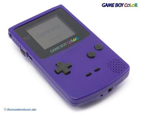 ebay gameboy color nintendo gameboy color console purple purple grape ebay