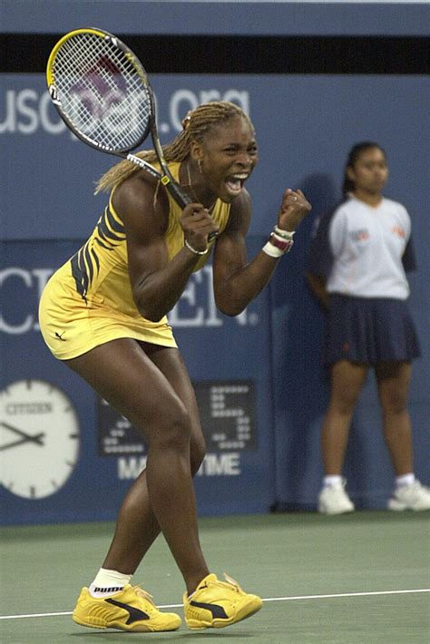see what serena williams has worn every year at the u s