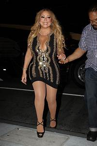 MARIAH CAREY Out and About in Boston 08/22/2017 - HawtCelebs