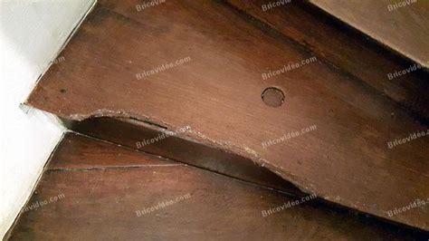 comment refaire un escalier en bois refaire des pieds de nez de marche d escalier ancien en bois
