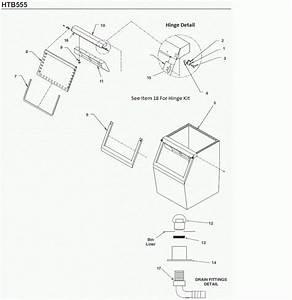 Scotsman Htb555 Bin Parts Diagram