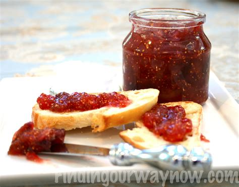 fig recipes homemade fresh fig jam recipe finding our way now