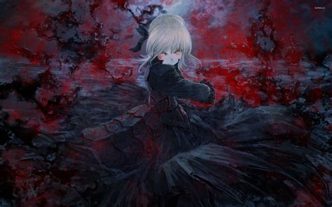 Bloody Anime Wallpaper - bloody saber alter in fate stay wallpaper anime