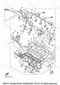 Yamaha Motorcycle 2005 Oem Parts Diagram For Intake 2