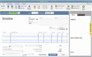 Quickbooks 2014 screenshots quickbooks and your business for How to make a invoice in quickbooks