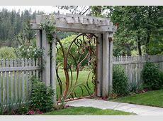 Contemporary garden gate landscape midcentury with modern