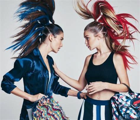 Snapshot: Gigi Hadid and Lily Aldridge by Patrick ...
