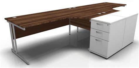 2 person corner desk two person corner and desk pedestal bundle revolution