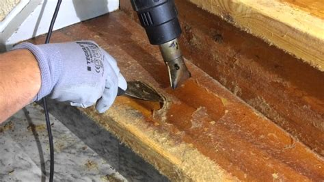 stair renovation removing  glue youtube