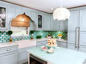 Blue kitchen cabinet color ideas for What kind of paint to use on kitchen cabinets for blue and green wall art