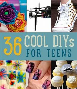 36 DIY Projects For Teenagers Cool Crafts for Teens DIY