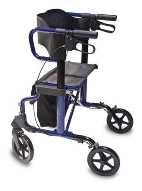 300 Lb Capacity Rollator Transport Chair Combo by Hybrid Rollator Transport 2 In 1 Hybrid Transport