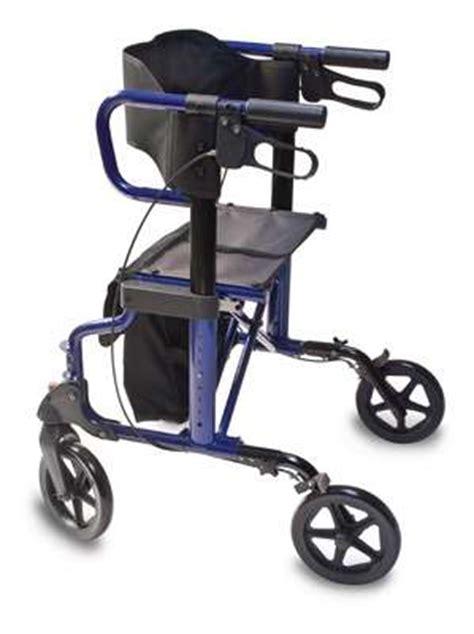 300 lb capacity rollator transport chair combo hybrid rollator transport 2 in 1 hybrid transport