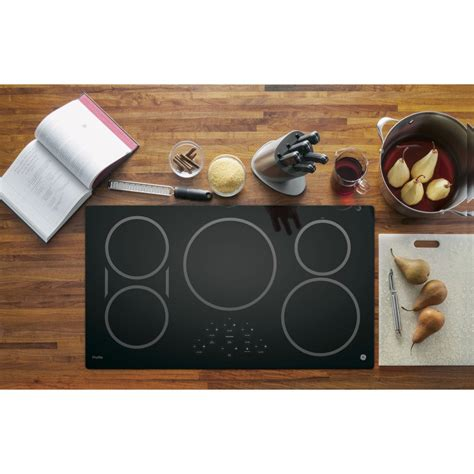 phpdjbb ge profile series  built  touch control induction cooktop