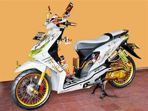 Modifikasi Motor Beat Tahun 2010 by Kumpulan Gambar Modifikasi Honda Beat Deqwan