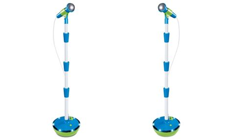 Discovery Kids Light Up Musical Microphone And Stand Groupon