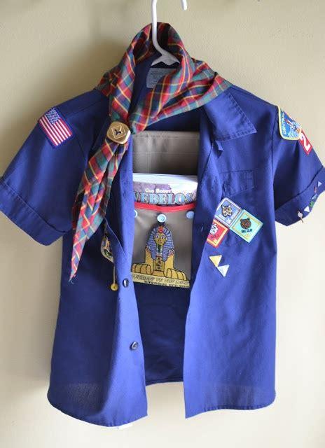 Cub Scout Uniform Hanger